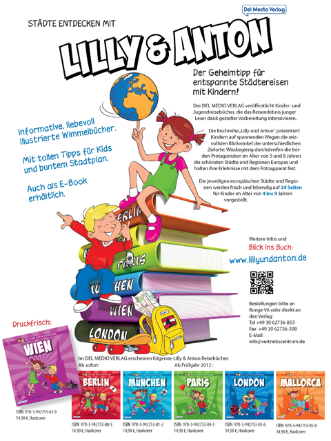 Buchmesse Plakat Lilly & Anton