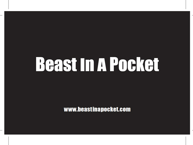 Visitenkarte Beast In A Pocket