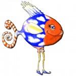 Fisch mit Beinen