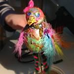 Dieses wunderbare Geschöpf erblickte durch Maria (9) das Licht des Ateliers