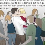 illustierte Buchseite von Heile Seelig