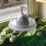 Ufo Ei vom Osterworkshop